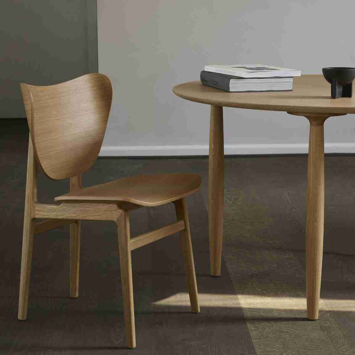 NY11 Dinning chair and Oku Dinning table